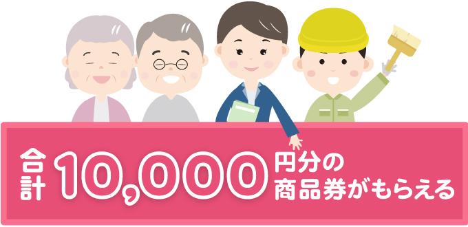 あなたとお友達に合計1万円分のキャッシュバックをプレゼント