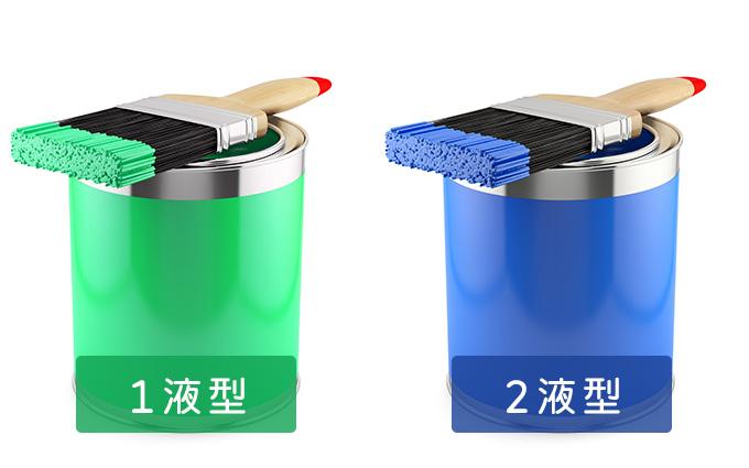 塗料を使用する前に知っておきたい1液型と2液型の特徴