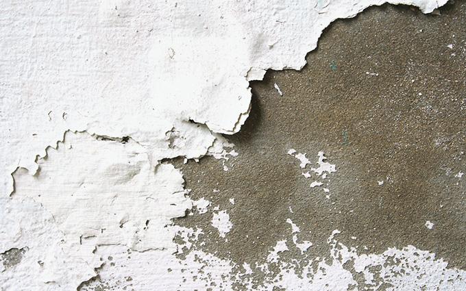 コンクリート壁の外壁塗装