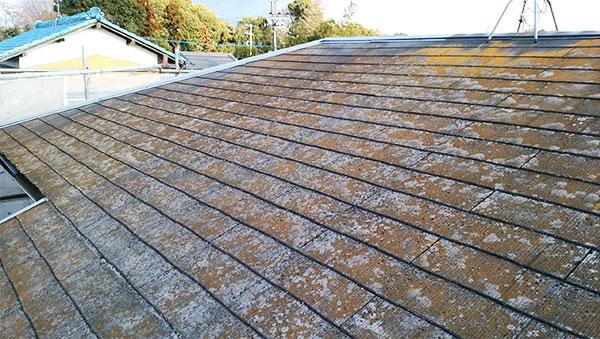施工前屋根1