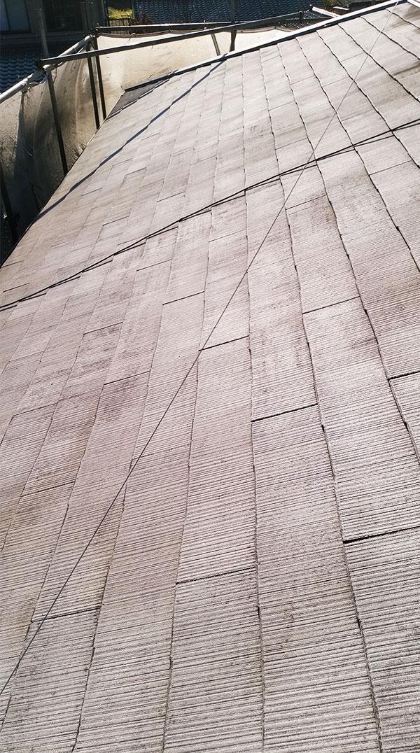 洗浄後屋根2
