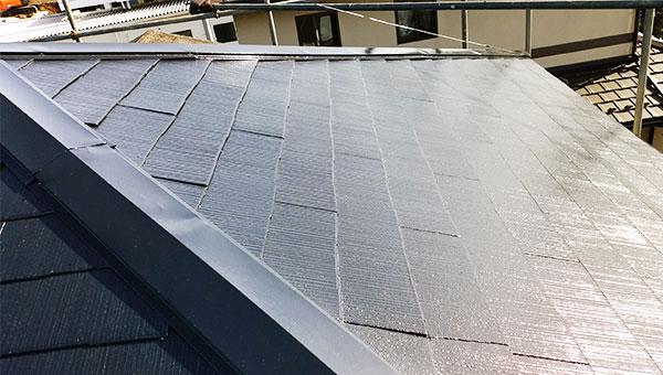 屋根塗装後3