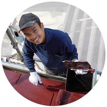 船橋市で<下請けは使わず、完全自社施工!>【優良塗装業者No.585】の写真