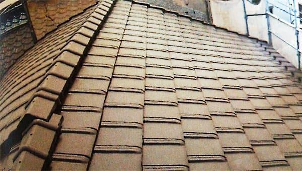 草加市 – 築31年以上2階戸建ての屋根葺き替え工事【No.150】