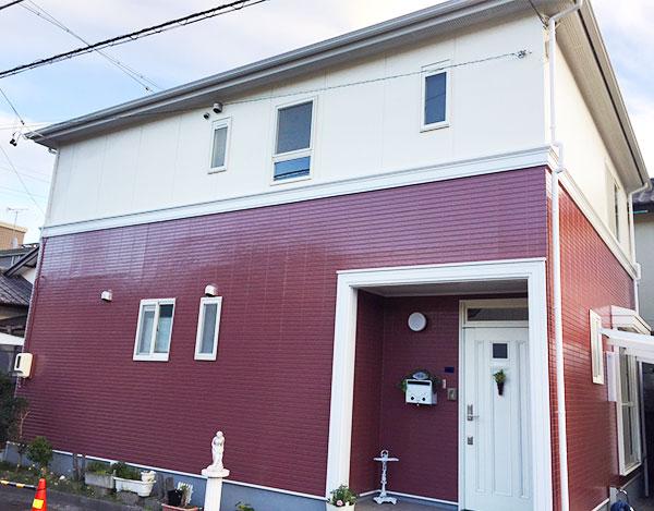 藤枝市 – 築24年2階戸建て初めての外壁・屋根塗装・網戸工事【No.169】