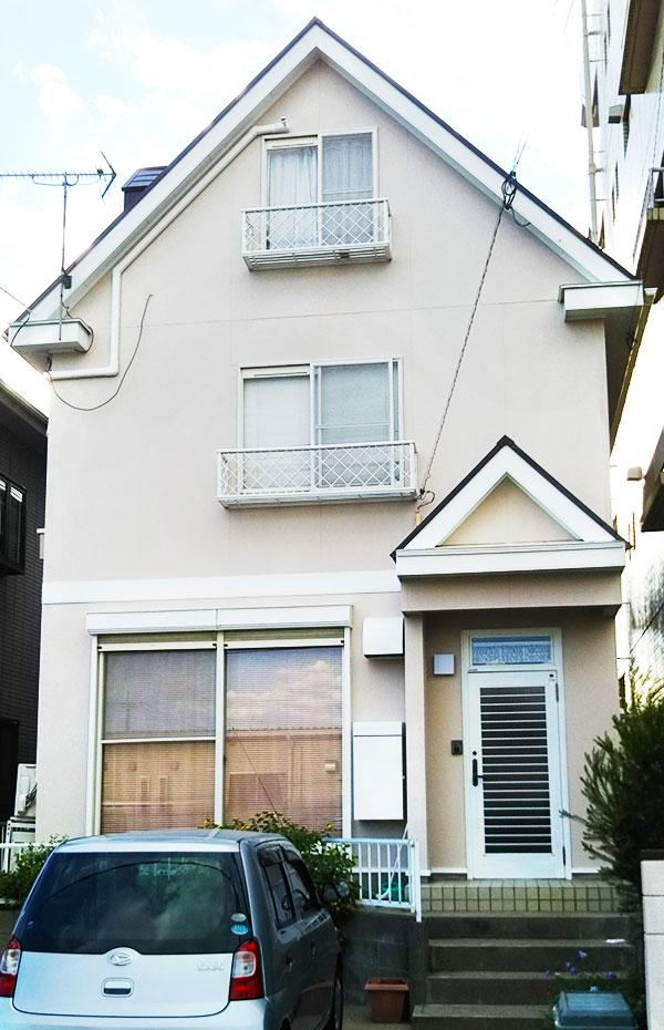 久留米市 – 築31年延床102㎡3階戸建ての外壁・屋根塗装【No.171】