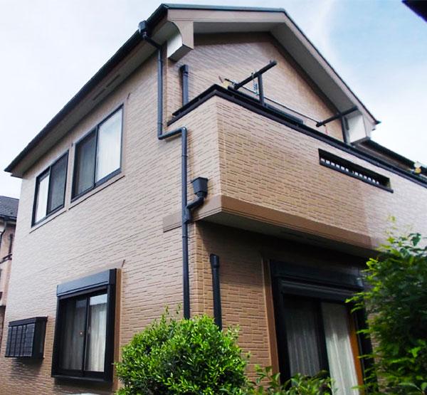 新座市 – 築14年建坪30坪床面積90平米の外壁塗装・屋根塗装【No.174】