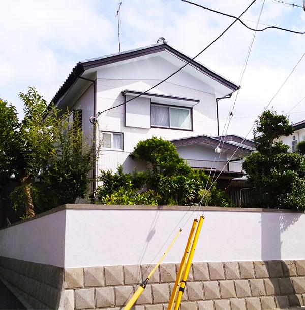 松戸市 – 2階戸建ての外壁塗装・屋根塗装・雨樋修理【No.176】