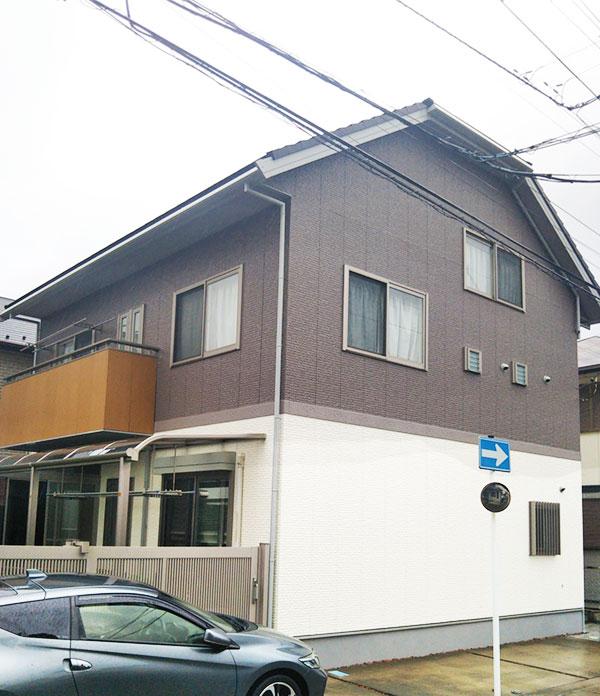 千葉市 – 築11年初めての外壁・雨樋塗装【No.182】