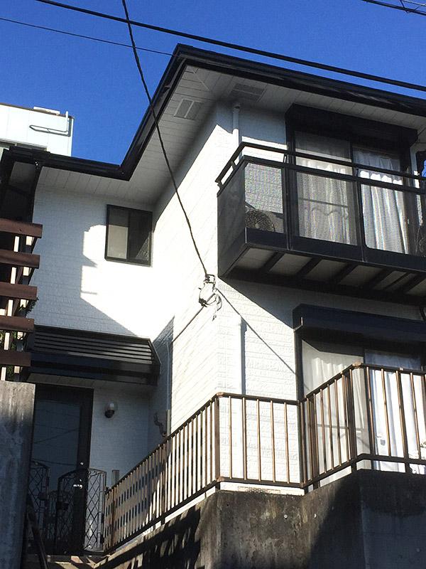 横浜市 – 築22年建坪30坪の2階戸建ての外壁塗装【No.199】