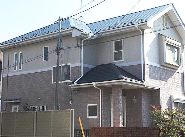 所沢市 – 築18年2階建ての雨漏り修理【No.200】