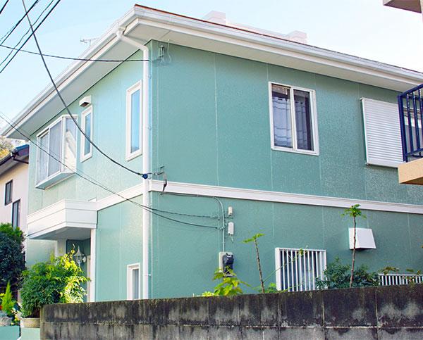 藤沢市 – 築30年2階戸建て2回目のサイディング外壁塗装・スレート屋根塗装【No.229】
