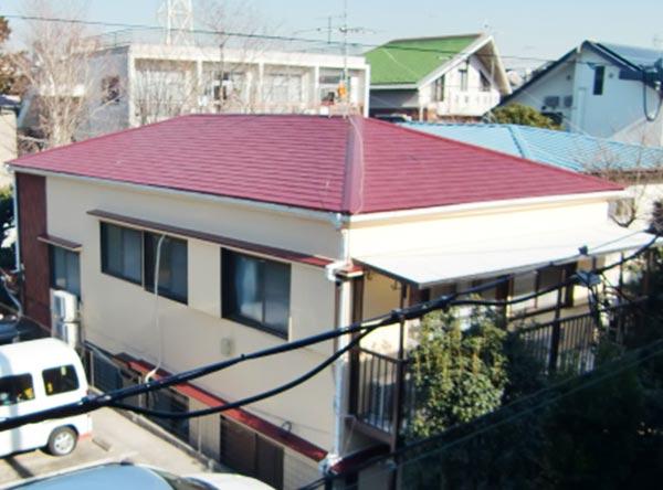 世田谷区 – 築30~40年延床約150㎡2階建てアパートの外壁・屋根塗装【No.239】
