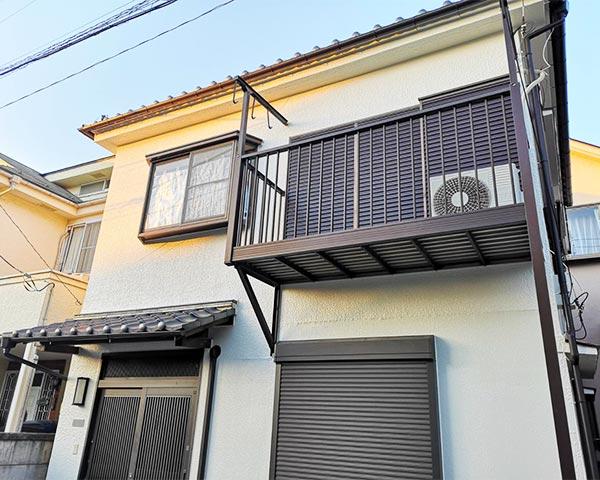 西東京市 – 築32年2階戸建ての外壁塗装・雨樋交換【No.240】