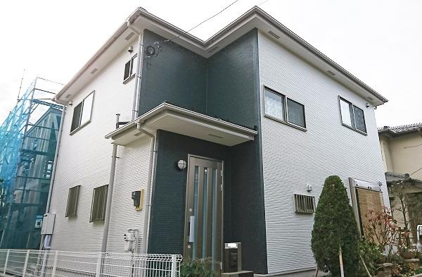 久喜市 – 2階戸建ての外壁・屋根塗装・外構補修【No.241】