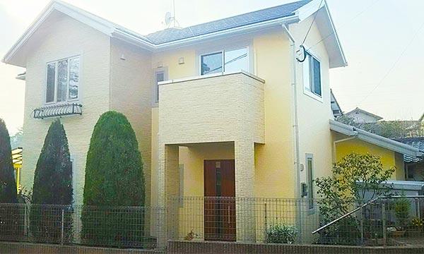 北九州市 -築11年建坪22坪2階戸建て初めての外壁塗装【No.256】