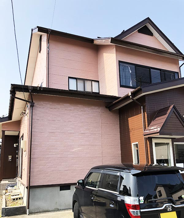 阿賀野市 – 築22年2階戸建て初めてのサイディング外壁・トタン屋根塗装【No.258】