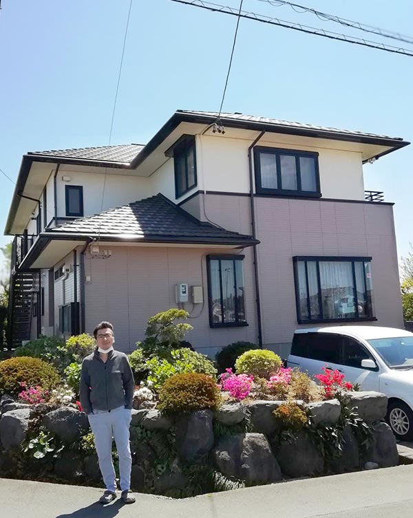 浜松市 -築24年延床230㎡2階戸建てのサイディング・モルタル外壁塗装、屋根塗装工事【No.261】