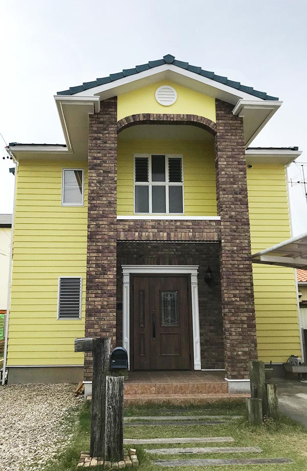 浜松市 -築17年延床155㎡2階戸建てのサイディング外壁塗装・ベランダ防水工事【No.273】