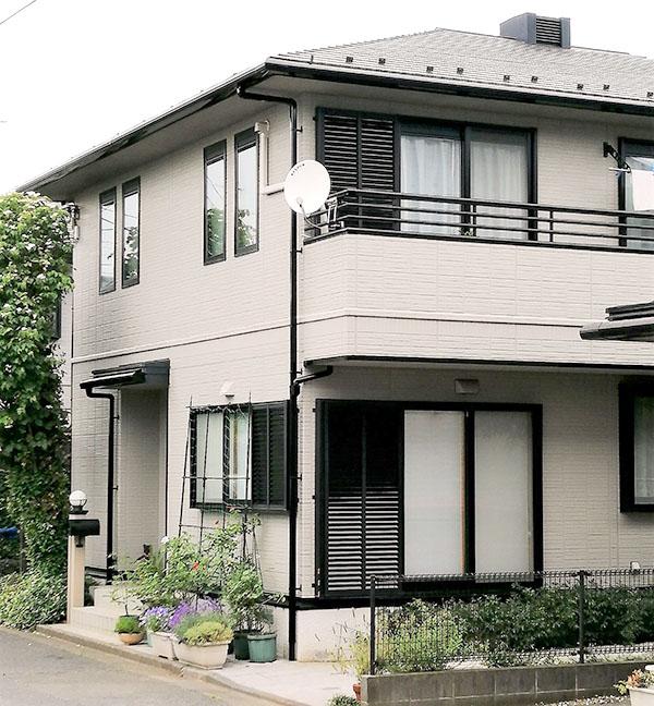 東大和市 -築20年床面積74㎡2階戸建てのスレート屋根塗装【No.274】