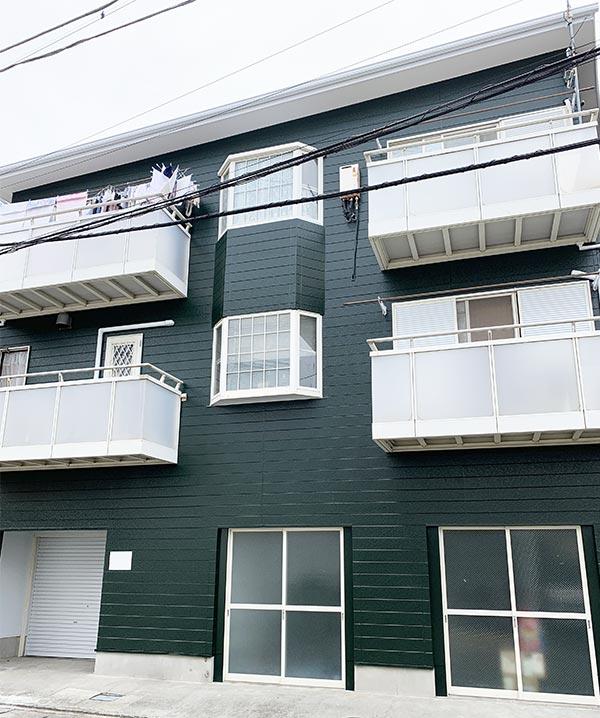鎌倉市 -築27年建坪29坪3階建て3~4回目の外壁・屋根塗装工事【No.276】
