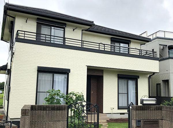 土浦市 -築19年建坪38坪2階戸建てはじめてのサイディング外壁塗装【No.288】