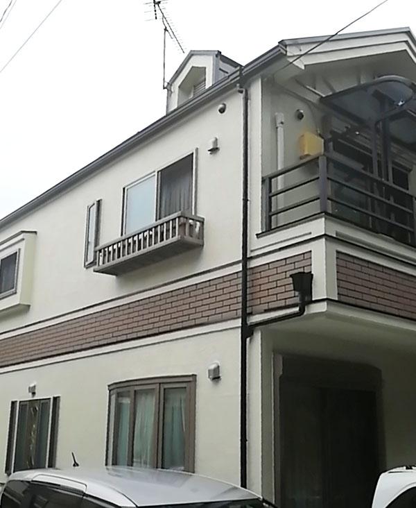 杉並区 -築22年28坪2階戸建て2回目のサイディング外壁・ガルバリウム屋根塗装工事【No.289】