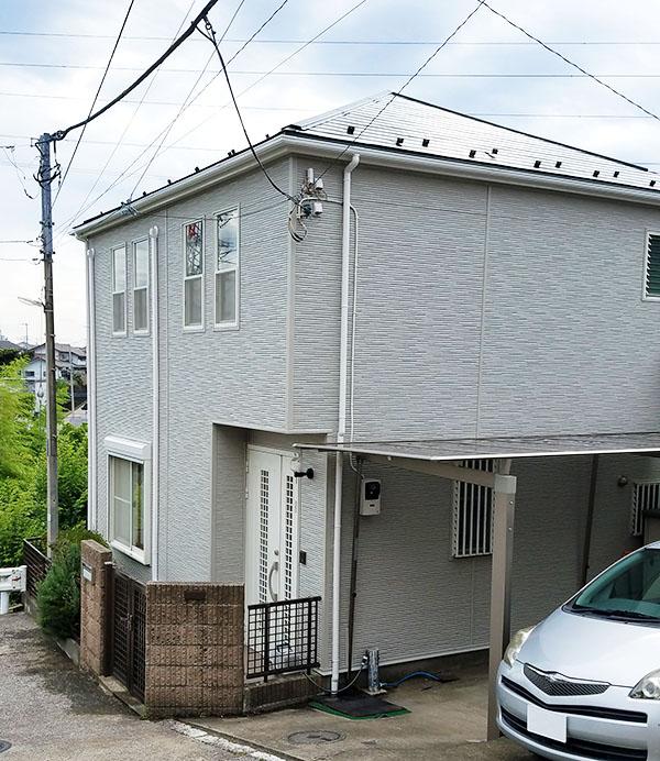 横浜市 -築20年延床100㎡2階戸建てのサイディング外壁重ね張り工事・屋根塗装工事【No.292】