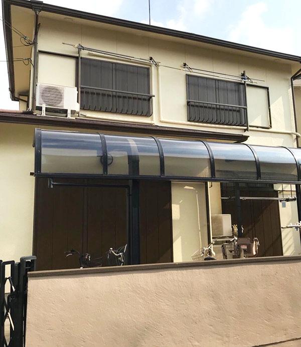 茨木市-築30年35坪2階戸建てのモルタル外壁・カラーベスト屋根塗装工事、内装リフォーム【No.294】