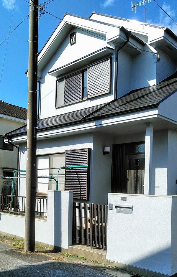 山武郡 -築26年2階戸建て初めての外壁・屋根塗装工事【No.299】