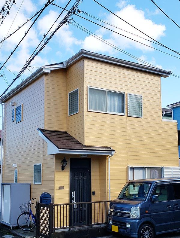 横須賀市 -築23年2階一戸建ての外壁塗装・屋根塗装工事【No.332】